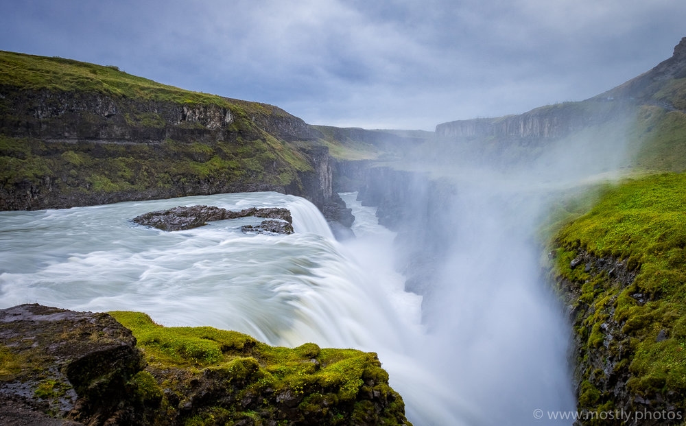 Fuji X-T1 - The beautiful Gullfoss Waterfall