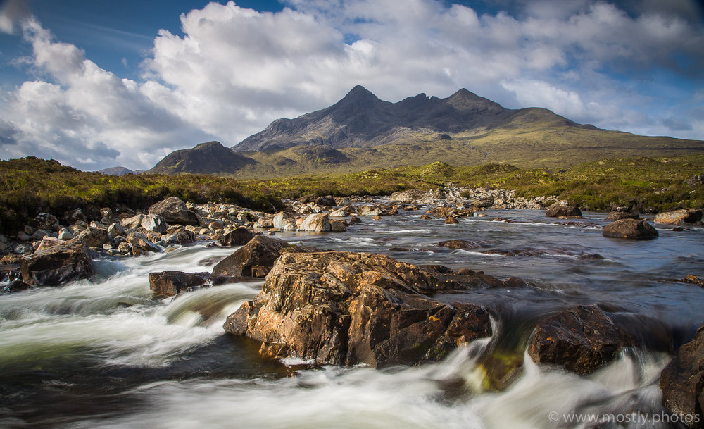 The Black Cullin Mountains, Sligachan - Isle of Skye, Scotland