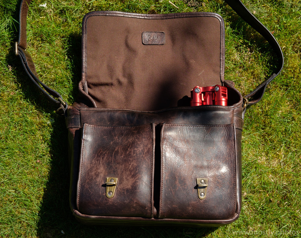 MeFoto Backpacker Air and ONA Prince Street Messenger Bag