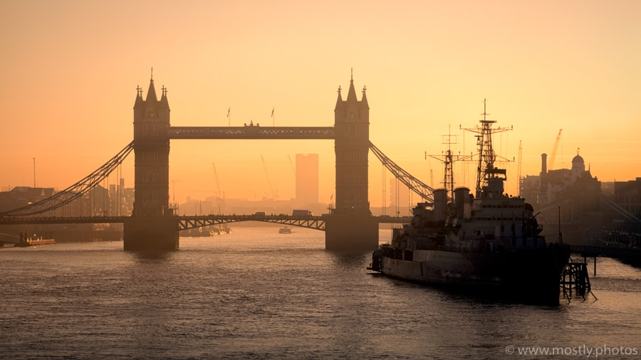Tower Bridge Dawn