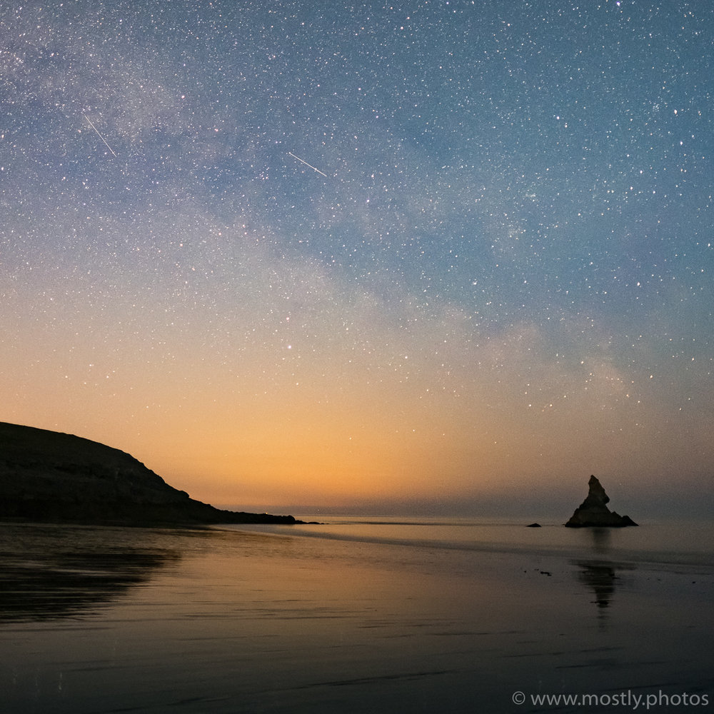 Milky Way - Broad Haven Beach