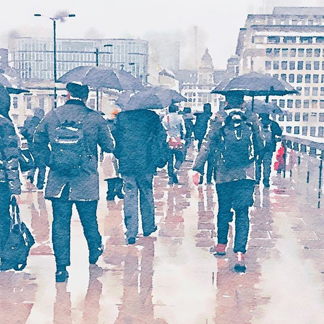 #waterlogue #londbridge #wetweather