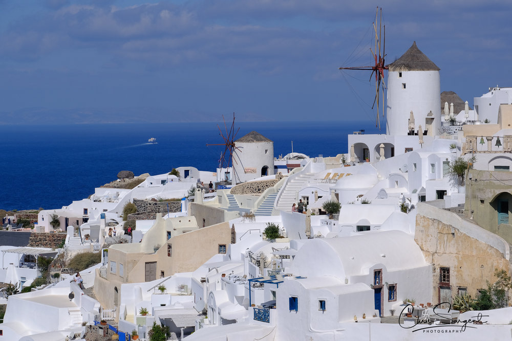 Windmills at Oia