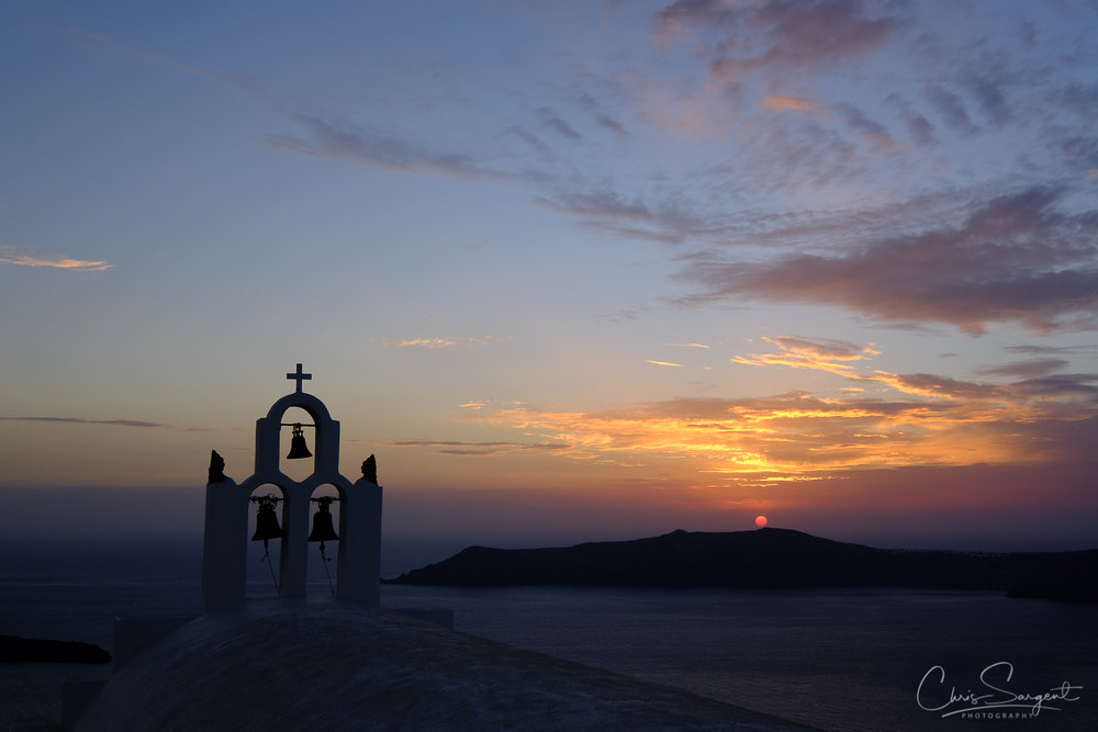Sunset - Imerovigli, Santorini