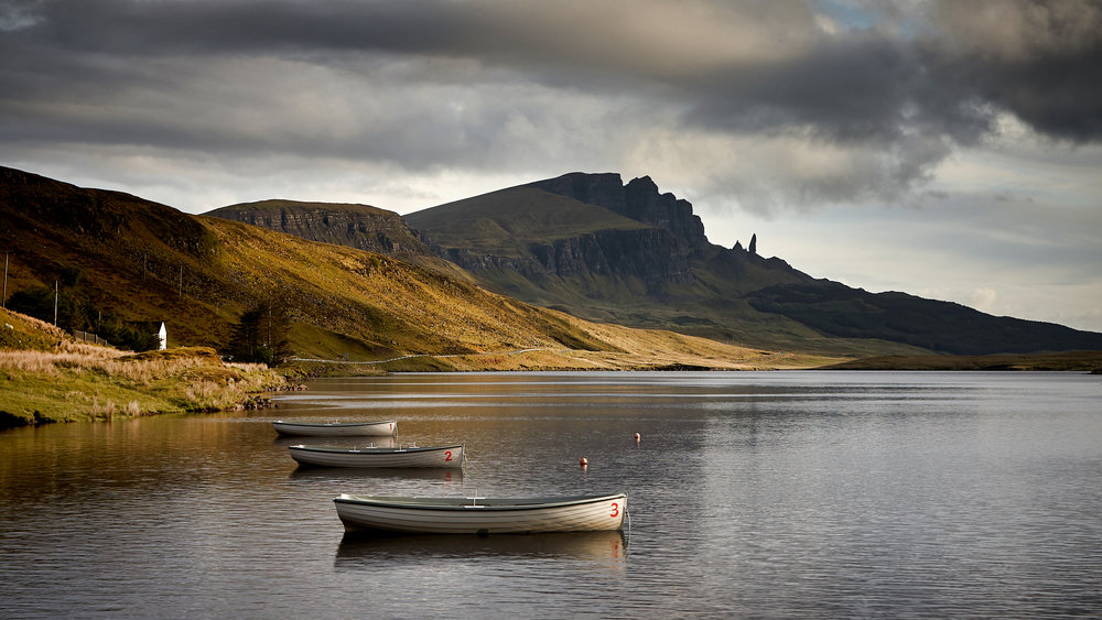 The Old Man of Storr Isle of Skye, Scotland