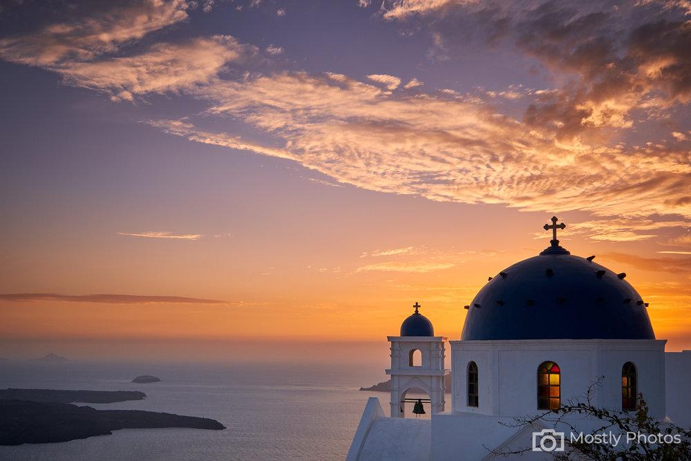 Fuji X-T3 - Santorini Sunset