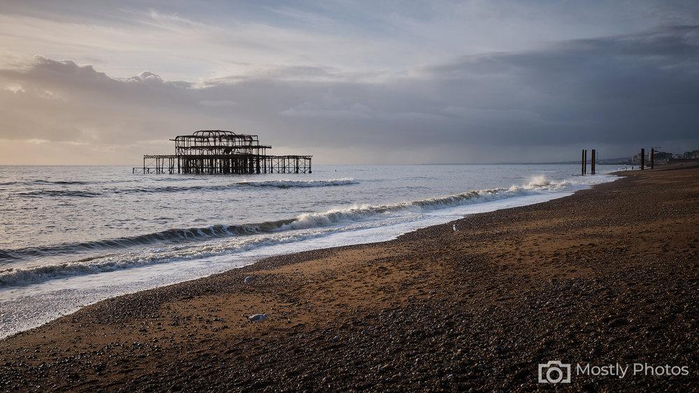 Brighton Beach Fuji X-T3