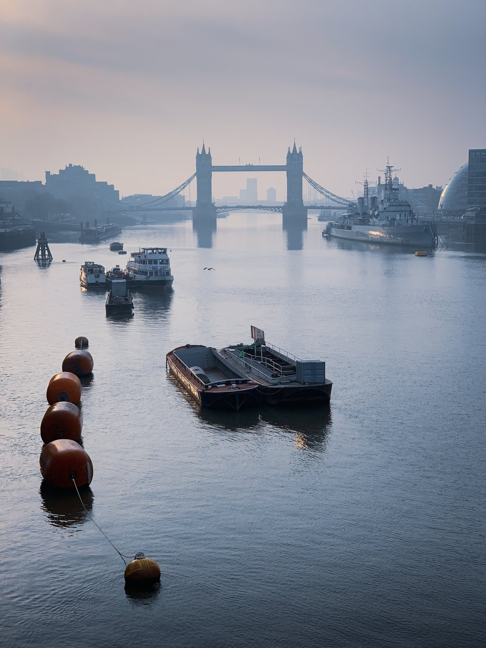 Tower Bridge and the Thames