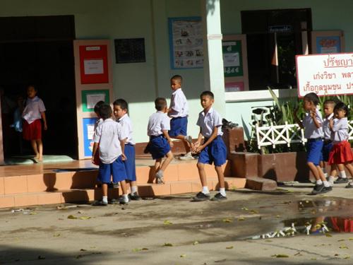 DS4 kids at school.