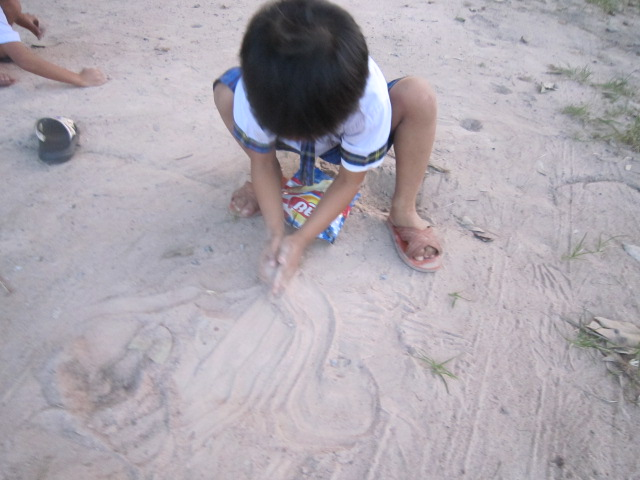 Nothing like playing in the sand.