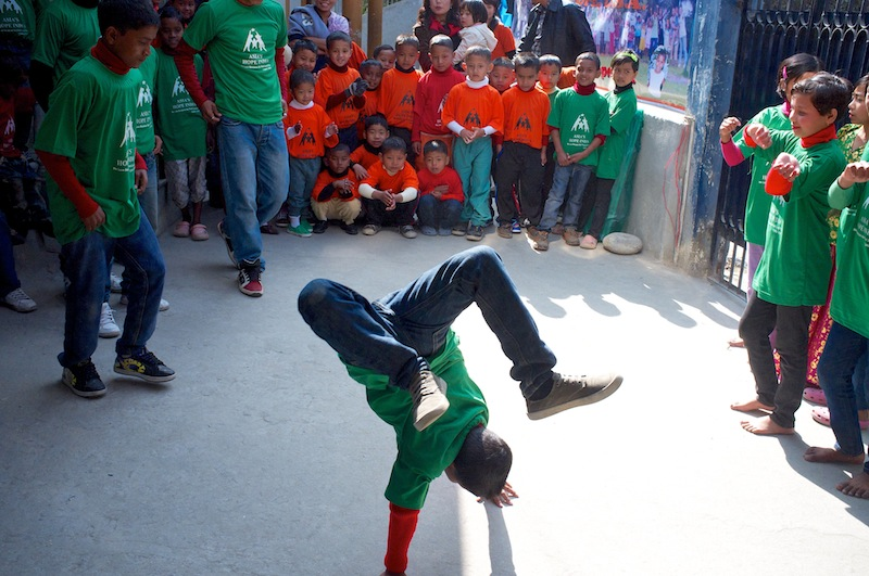 Breakdancing!