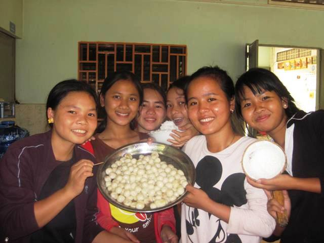 Delicious Khmer sweets.