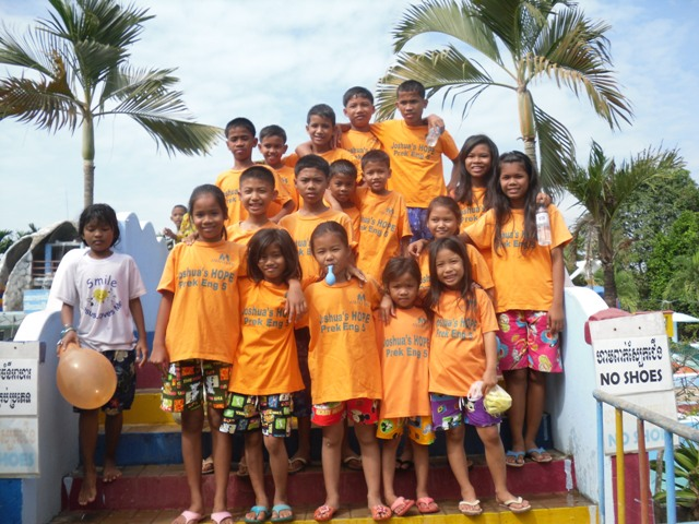 All the kids enjoyed the trip to the water park.