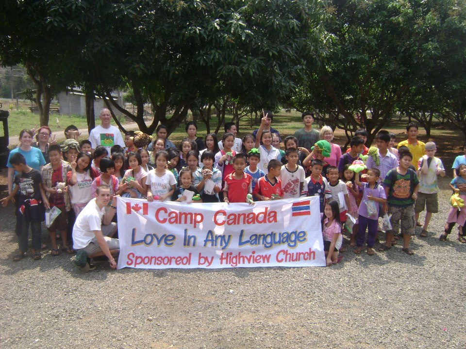 The Hot Springs kids loved participating in the camp sponsored by Highview, their partnering church from Kitchener, Ontario.