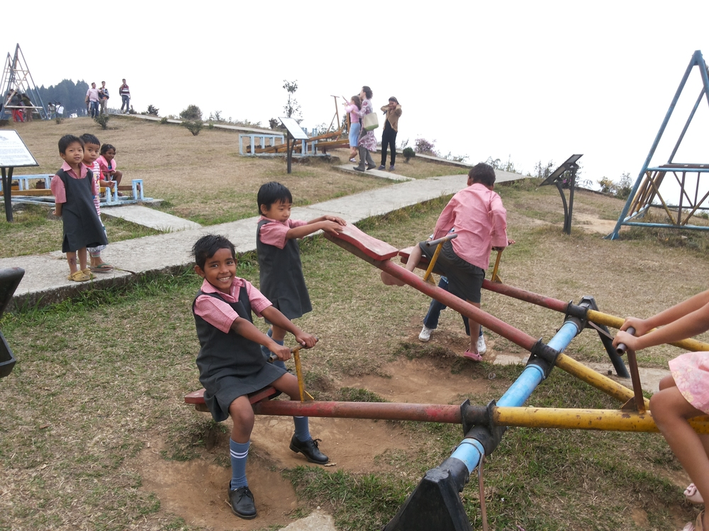 All of the Kalimpong kids enjoyed a picnic outing.