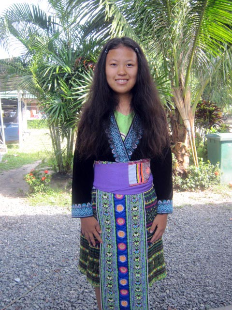 At Asia's Hope Thailand, we have children and staff from seven different tribal groups. These girls are proud of their Hmong heritage and dress in traditional attire for special occasions. They also maintain Hmong tribal language and dance traditions.