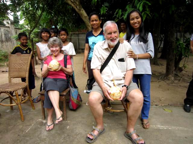 The kids enjoyed a visit from Executive Board member Dr. John Campbell and his wife Bobbi. John and Bobbi have been involved with Asia's Hope for more than a decade, and have known many of these children from their very first days with Asia's Hope.