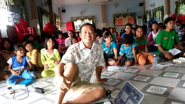 Prayer and fasting are on the agenda at the Battambang 3 children's home.