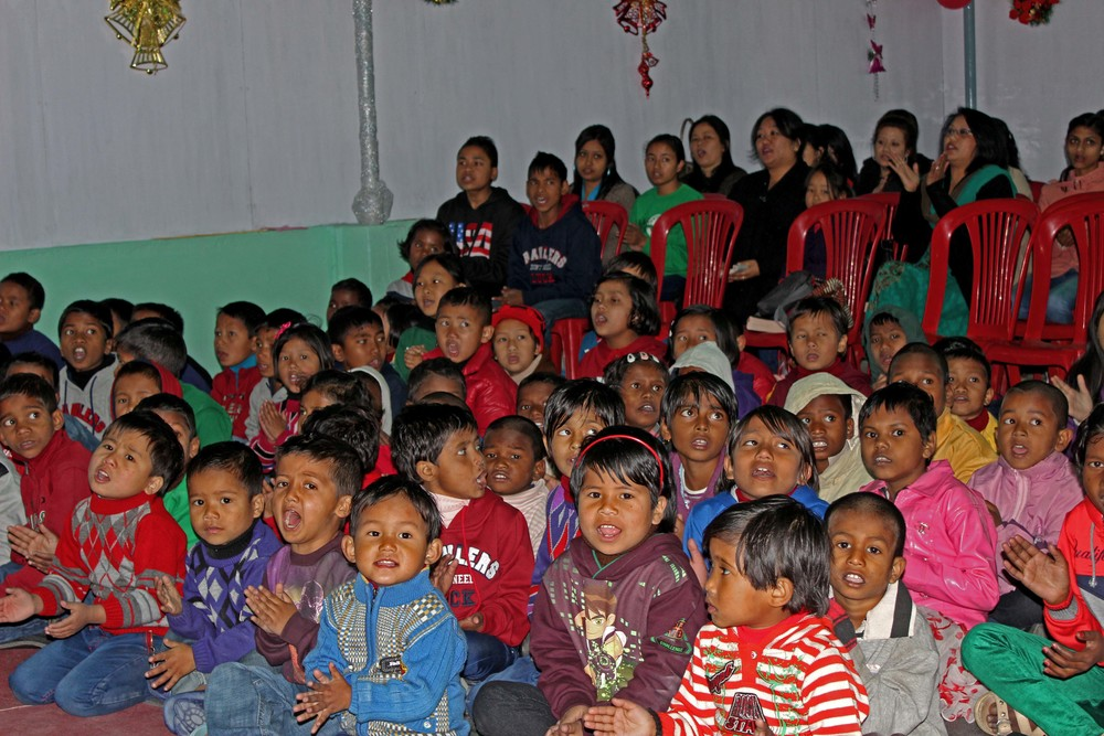 Thanks to your support, these children had a great Christmas.