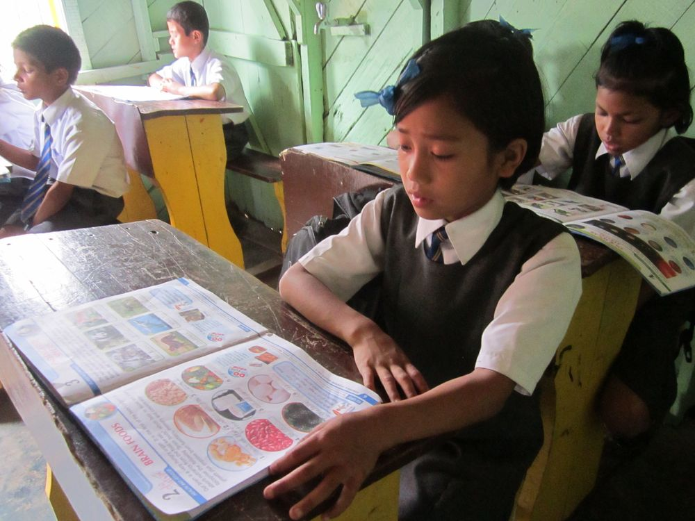 The kids of Asia's Hope are studying hard!