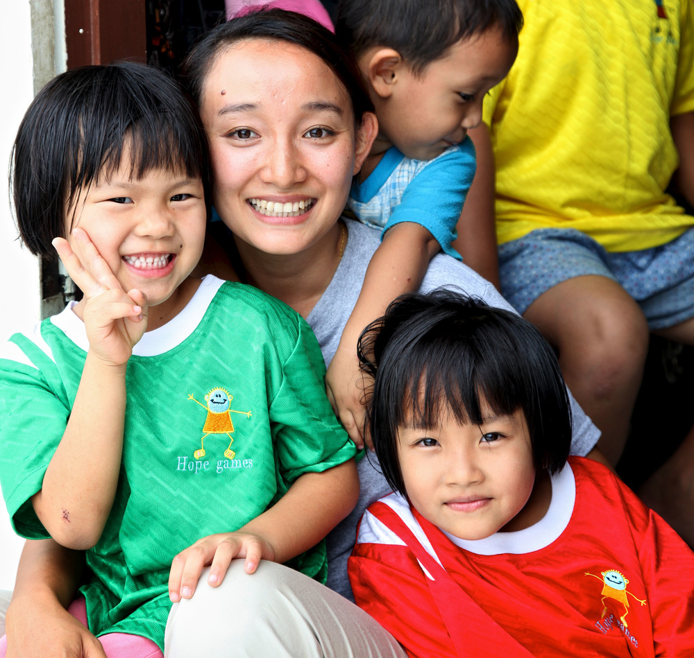 At each of Asia's Hope's 29 children's homes, orphaned kids enjoy all of the benefits of a real, permanent family.