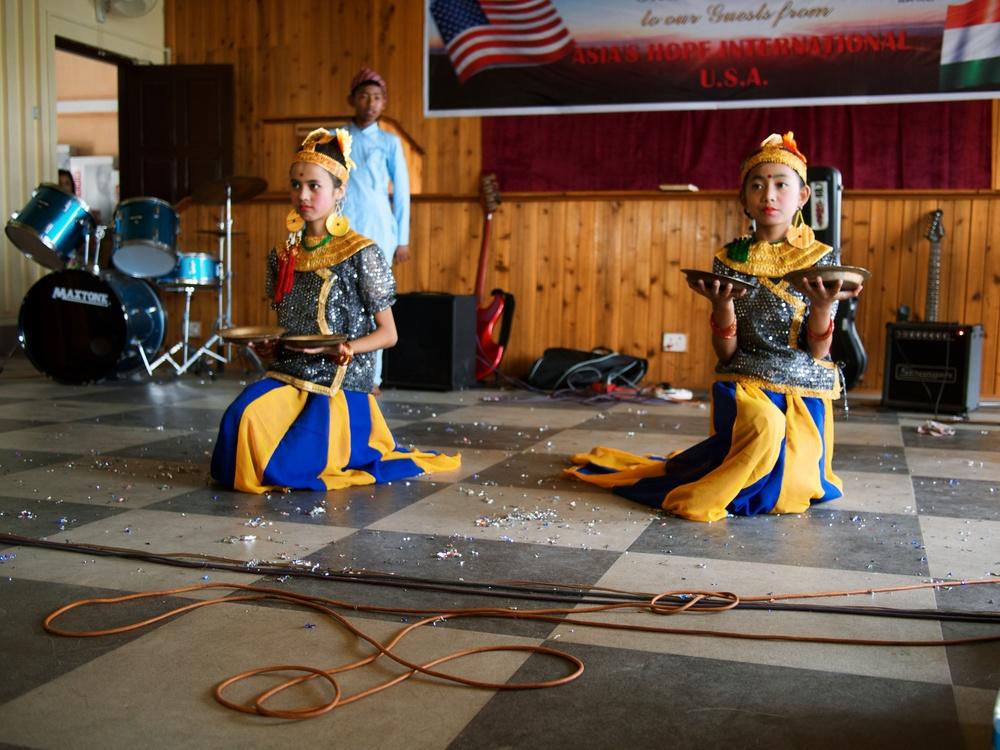 A traditional Nepali dance.