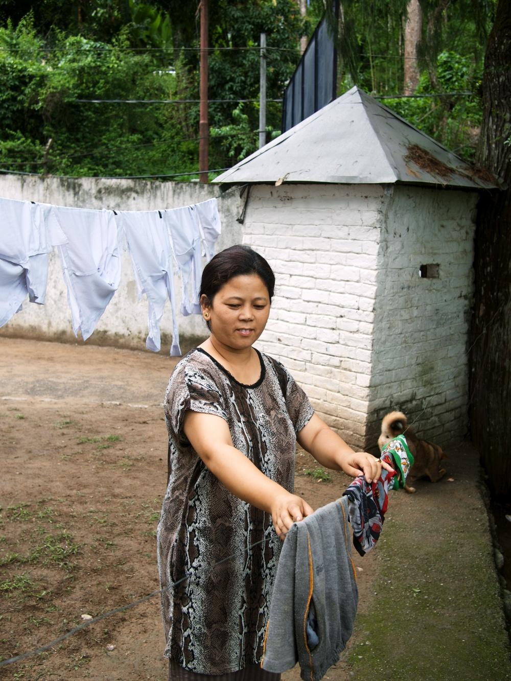 Radha, Home Parent of Kamlimpong 1