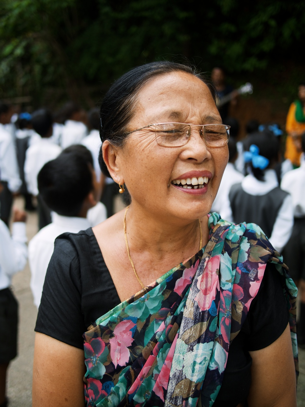 Our principal in Kalimpong.