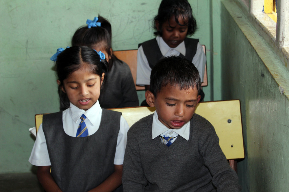 Time for school at the Asia's Hope school in Kalimpong!
