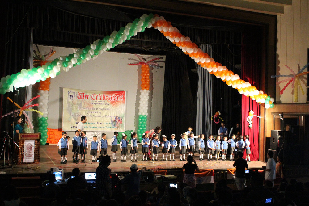 The Asia's Hope kids celebrate Independence Day with a special concert.