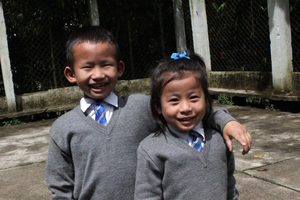 Time for school at the Asia's Hope school in Kalimpong.