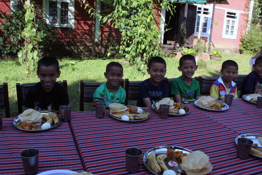 Along with the rest of Asia's Hope India, the kids of Kalimpong 2 enjoyed a special birthday meal and celebration.