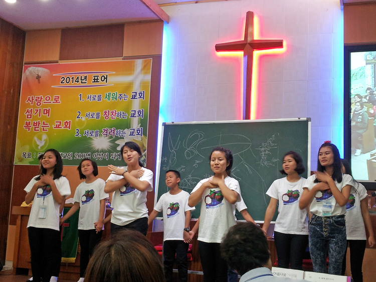 A choir from Asia's Hope Thailand toured Korea. What an amazing experience for them!