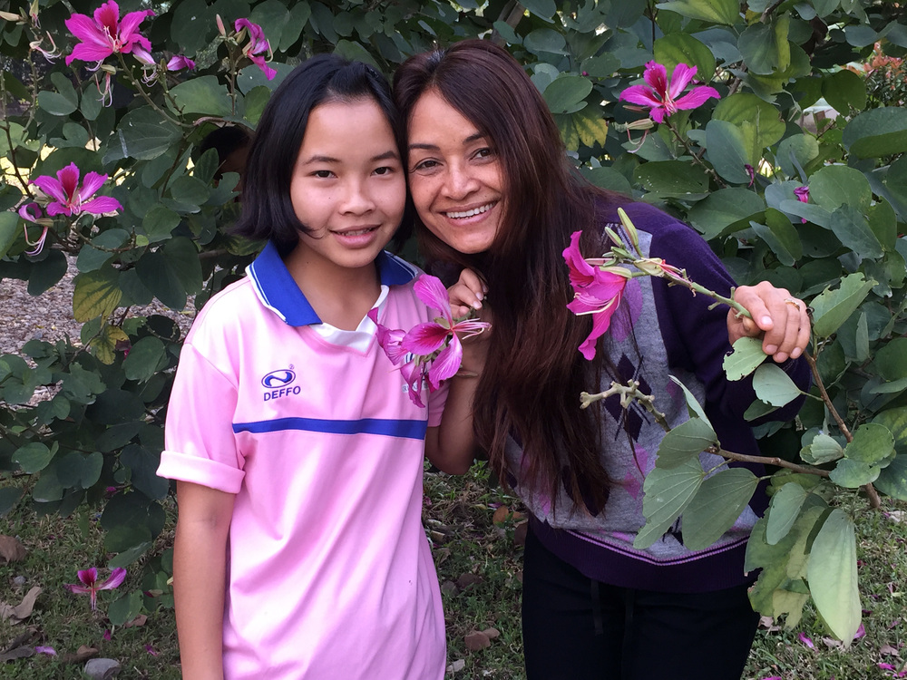 Our  amazing  Director in Thailand, Tutu, is back from her trip to North America!