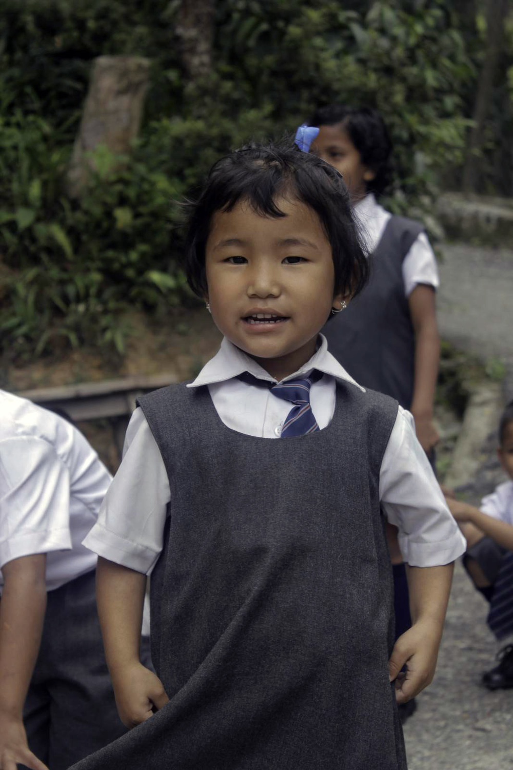 Cuteness overload = every day at the Asia's Hope School in Kalimpong.