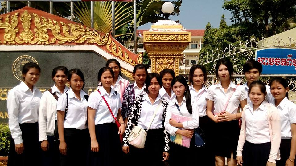 University students from Asia's Hope Cambodia in Battambang