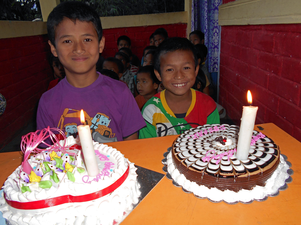Happy birthday to the boys at Kalimpong 3!