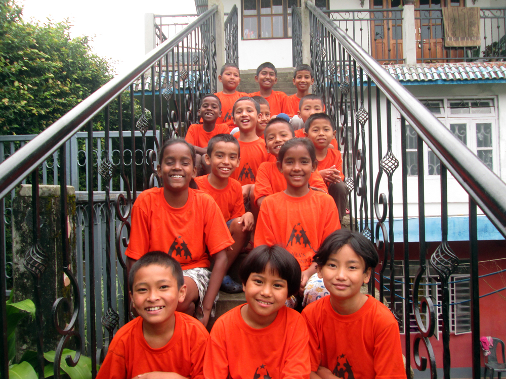 The wonderful kids of the Kalimpong 2 children's home!