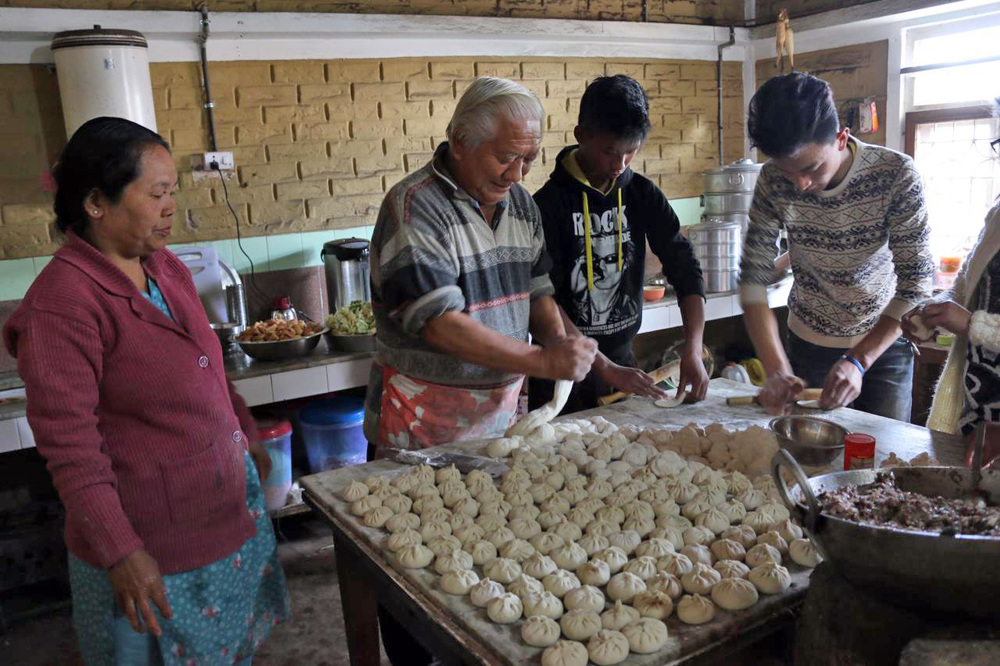 There are few things better than authentic, handmade momo dumplings.