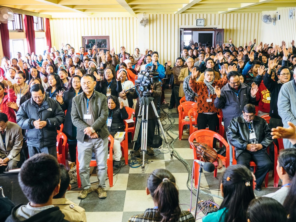 The Himalayan Leadership Conference in Kalimpong, India brought together more than 700 pastors and leaders from India, Nepal and Bhutan.