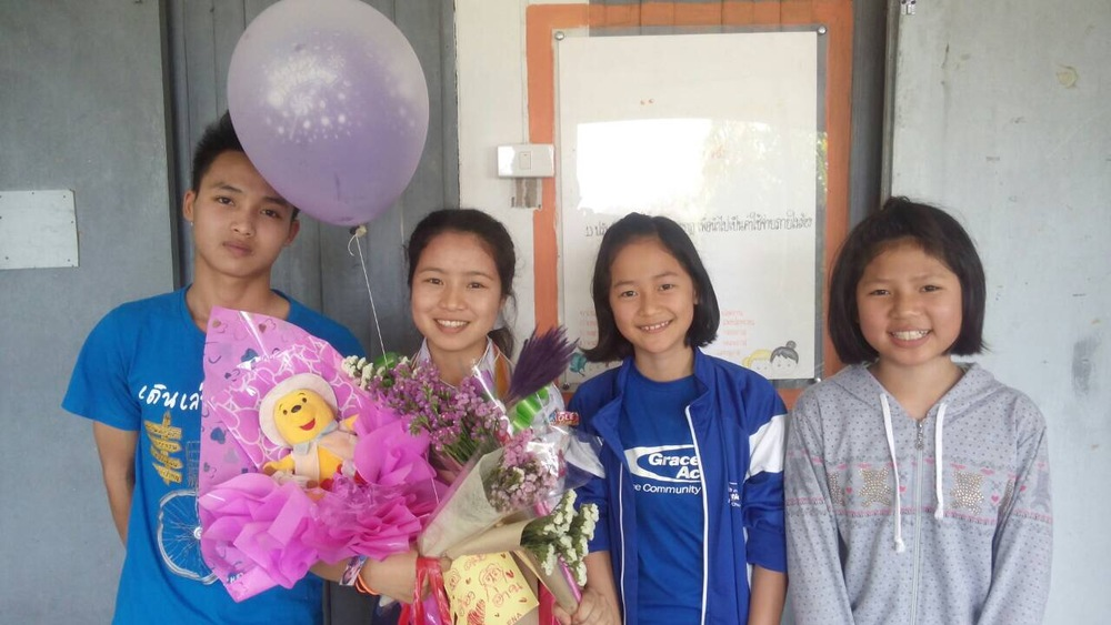 The end of the school year bring grade level graduations for the Doi Saket 2 kids in Thailand — great job!