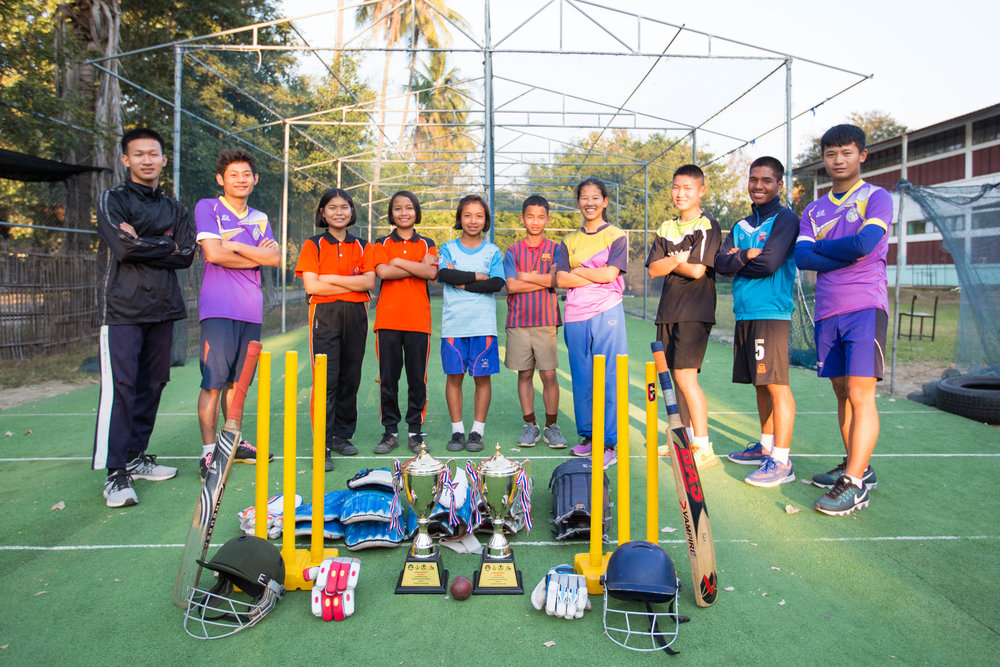 Thailand National Youth Games, Cricket Champions