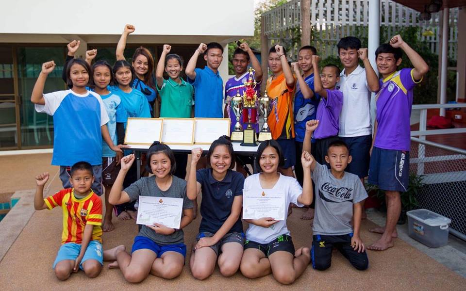 Soccer and Cricket stars from our Campuses in Doi Saket Thailand!