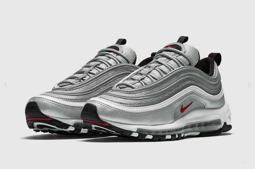 new styles e7026 a5827 The Intersection; 161130 - Nike Air Max 97