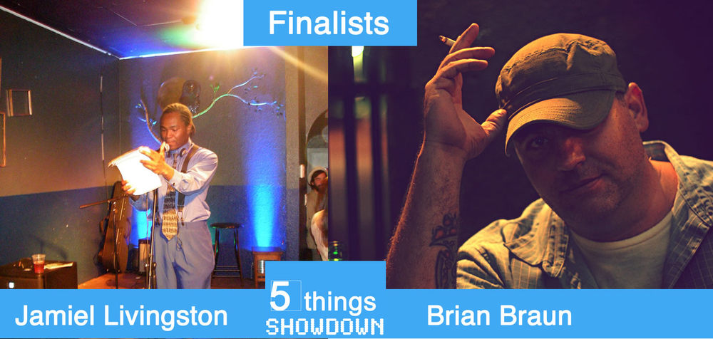 We have our two finalists: 
