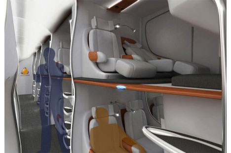 1.I hope some of these airplane cabin designs come true  http://bit.ly/guL84e  