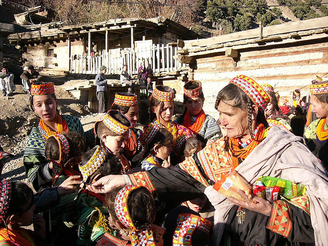 A distinct culture and religion as sets the Kaleshi apart from their neighbors in Pakistan
