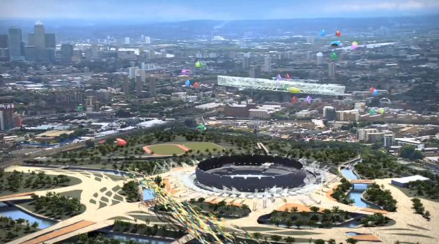 London's new Olympic Stadium