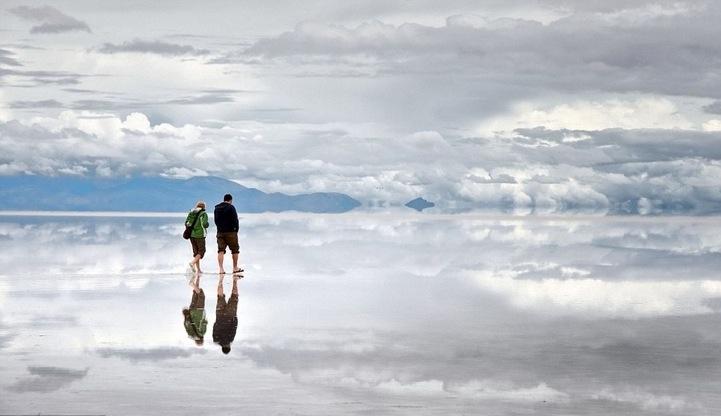 Salar de Uyuni Salt Flat in Bolivia