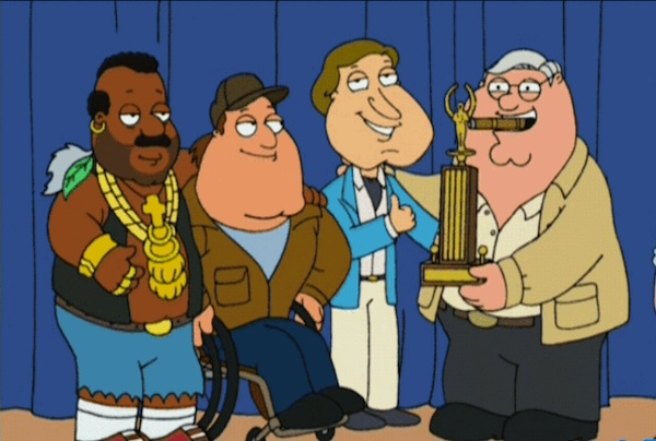 Family Guy as A-team